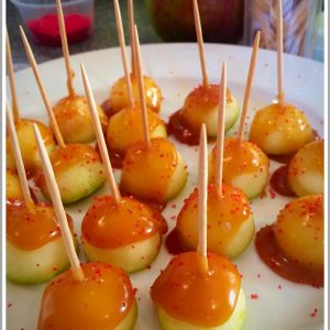 Carmel Apple Bites