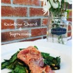 Rainbow Chard and Soppressata