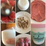 Strawberry Pistachio Ice Cream