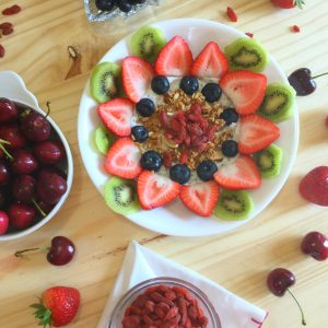 Coconut Chia Pudding Breakfast Bowl