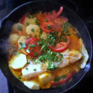 Brazilian Fish Stew (Moqueca)
