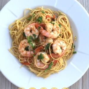 Spicy Shrimp Scampi