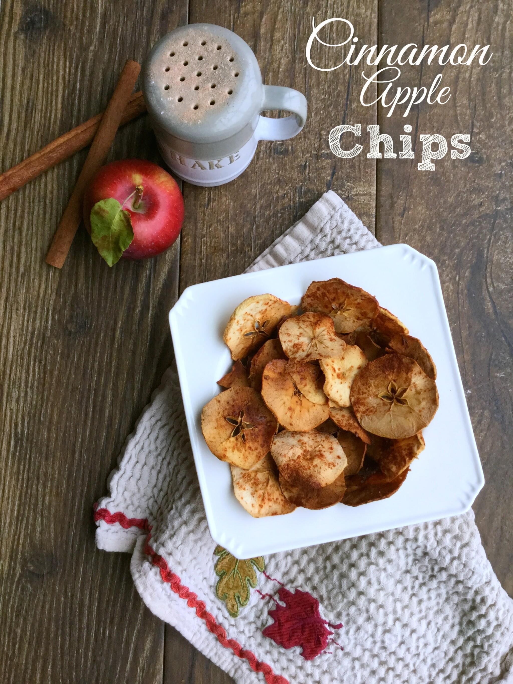 Cinnamon Apple Chips | gardeninthekitchen.com