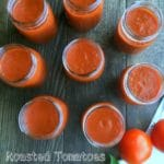 Roasted Tomatoes Sauce