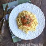 Roasted Veggies Tomato Sauce