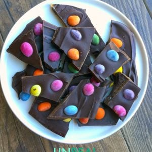 UNREAL Chocolate Peanuts Bark
