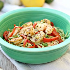 Cucumber & Shrimp Salad With Chia Vinaigrette Dressing