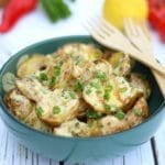 Grilled Potato Salad With Sweet Mustard Dressing