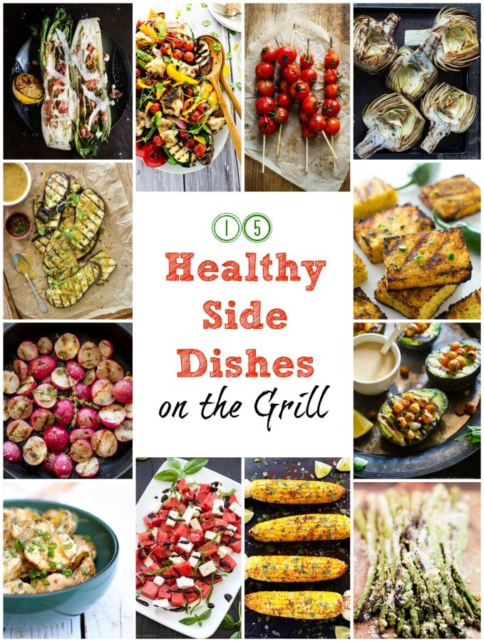 15 healthy side dishes for the grill to satisfy everyone's taste and dietary needs | gardeninthekitchen.com