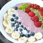 Acaí Berry Smoothie Bowl