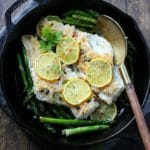 Lemon Capers Baked Cod
