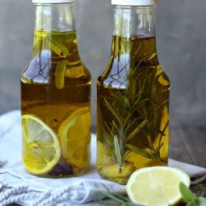 Rosemary and Lemon Infused Olive Oil