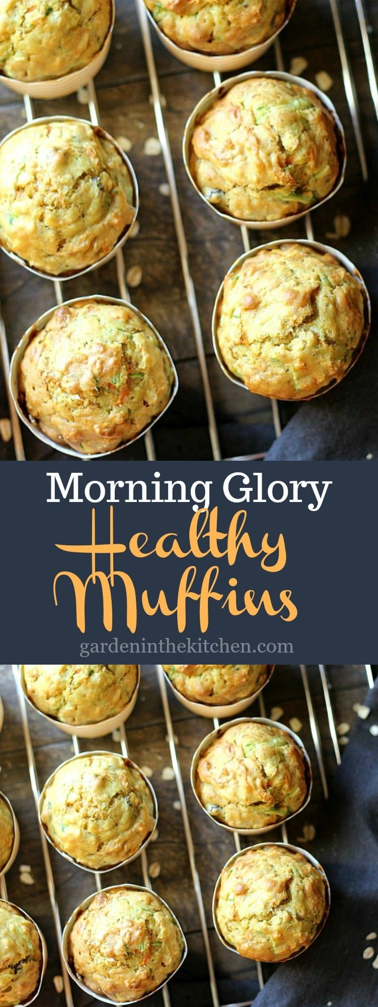 BEST Morning Glory Healthy Muffin!