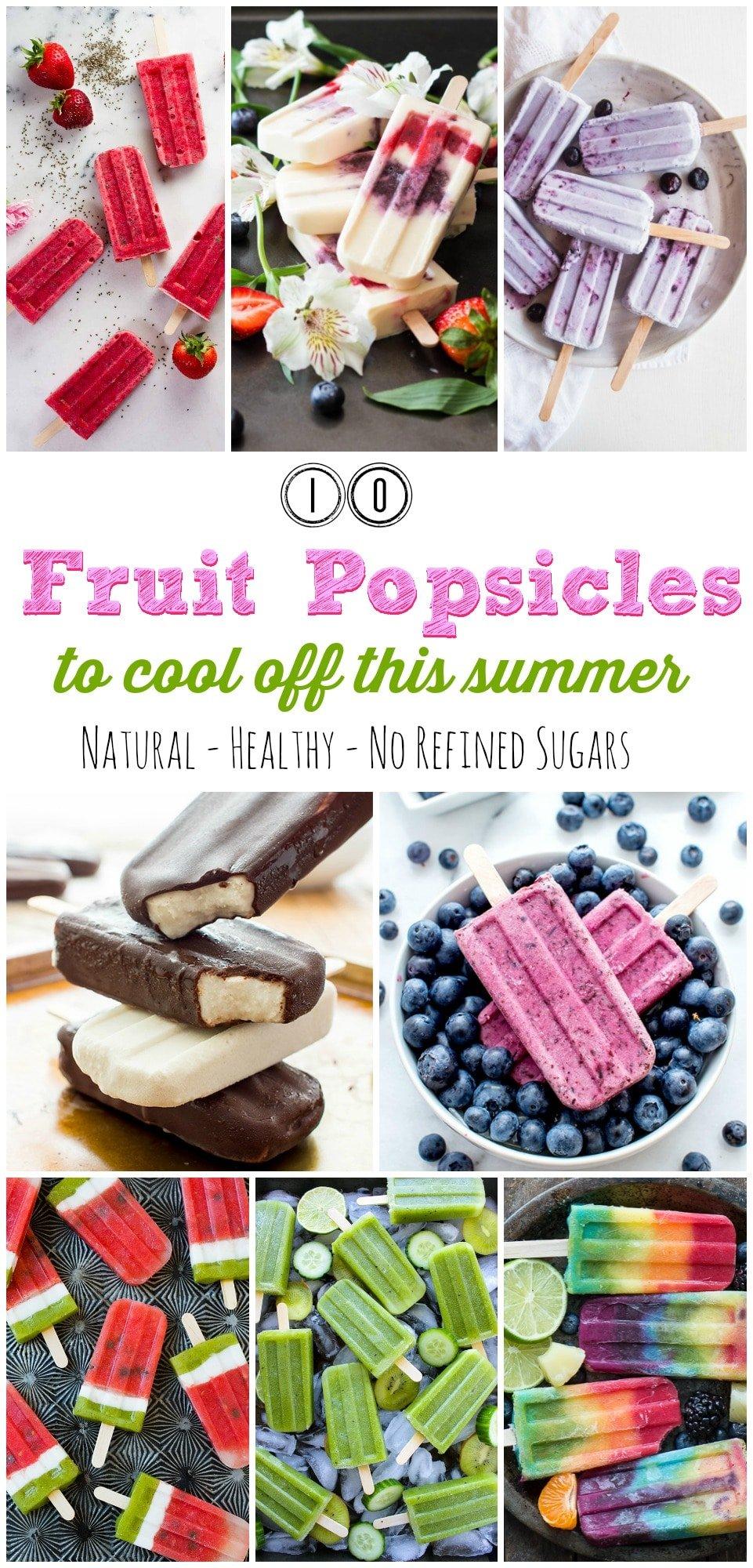 10 Best Fruit Popsicles To Make This Summer! gardeninthekitchen.com