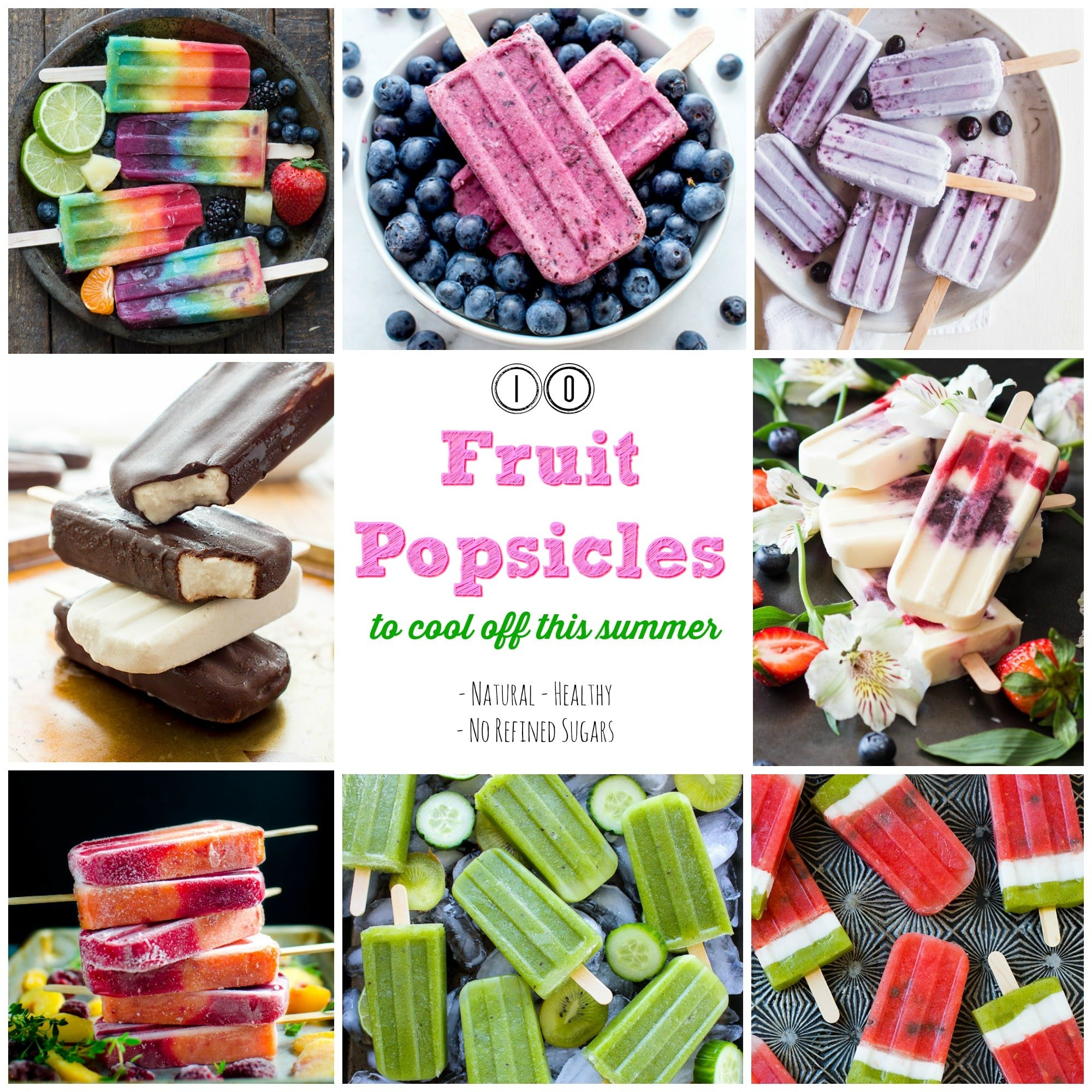 10 Best Fruit Popsicles To Make This Summer! gardeninthekitchen.com