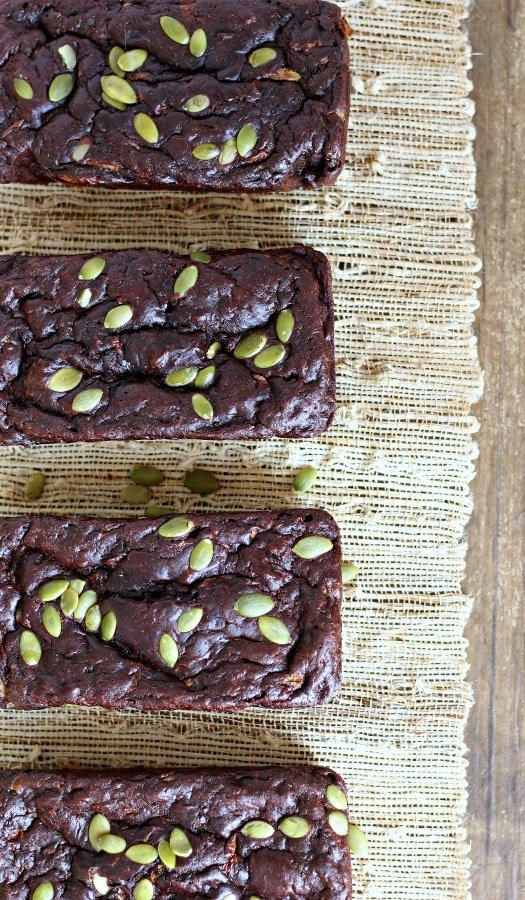 Double Chocolate Zucchini Bread | gardeninthekitchen.com