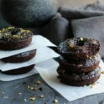 Chocolate Pistachio Zucchini Donut