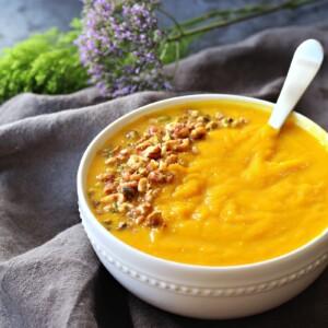 Butternut Squash & Turmeric Soup