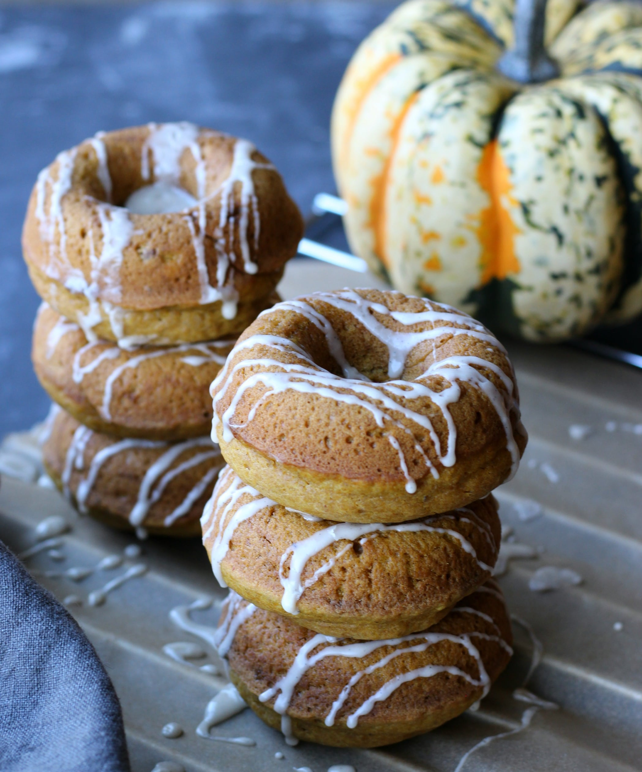 OMG These are the BEST Pumpkin Donuts on Earth! gardeninthekitchen.com