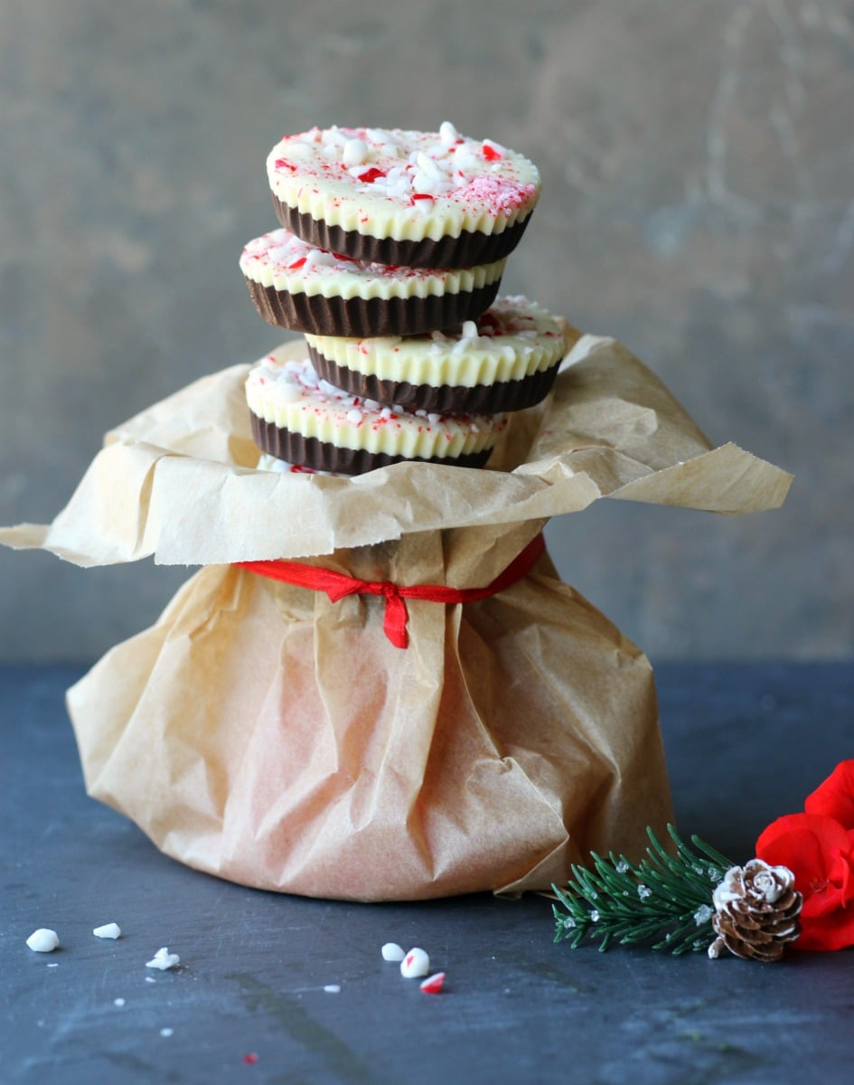The most DELICIOUS Chocolate Peppermint Cups | gardeninthekitchen.com