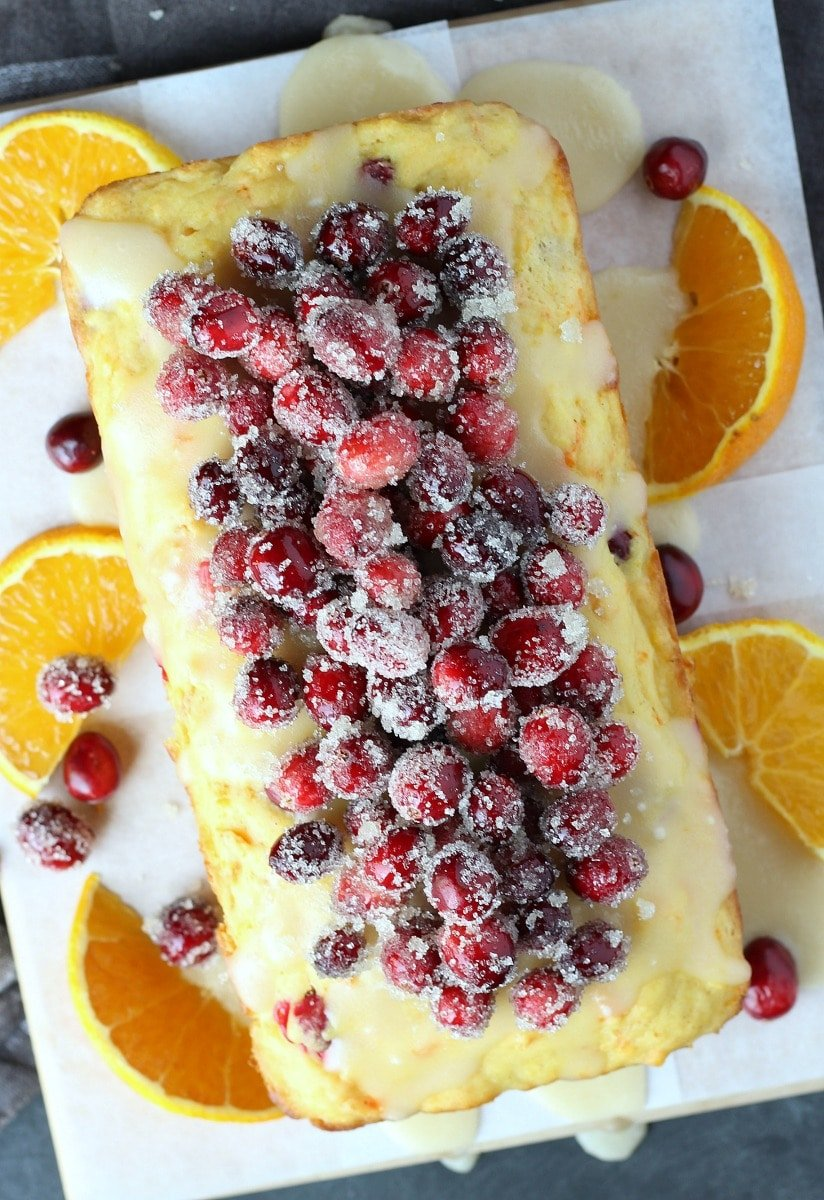 Cranberry Orange Carrot Cake | gardeninthekitchen.com
