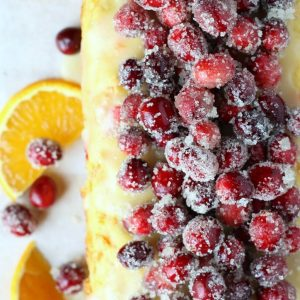Cranberry Orange Carrot Cake