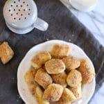 Soft Cinnamon Pretzel Bites