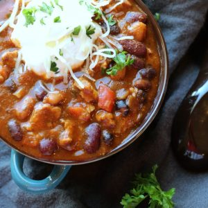 Turkey Chili Crockpot