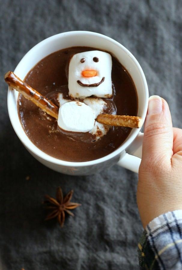 Creamy, Trick, Rich and totally irresistible Brazilian Hot Cocoa | gardeninthekitchen.com