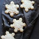 Snowflake Sugar Cookies (Gluten-Free)