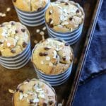 Banana Muffin (Paleo, Gluten-free)