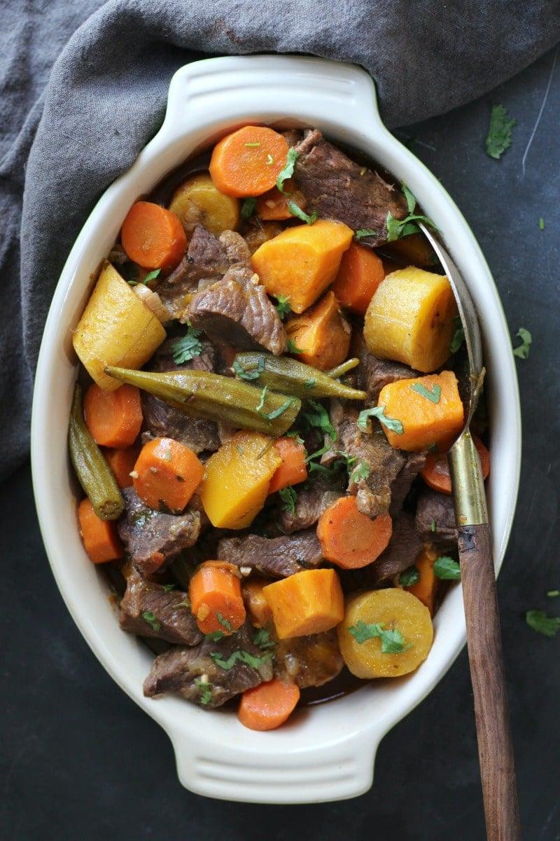 Brazilian Beef Stew | gardeninthekitchen.com