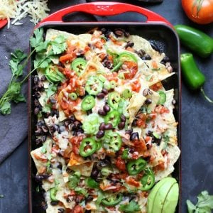 spicy nachos