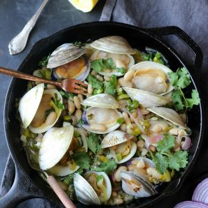 Check out this Clams in White Bean Sauce recipe!
