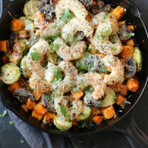 Sweet Potato Shrimp Skillet