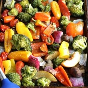 Sheet Pan Roasted Veggies