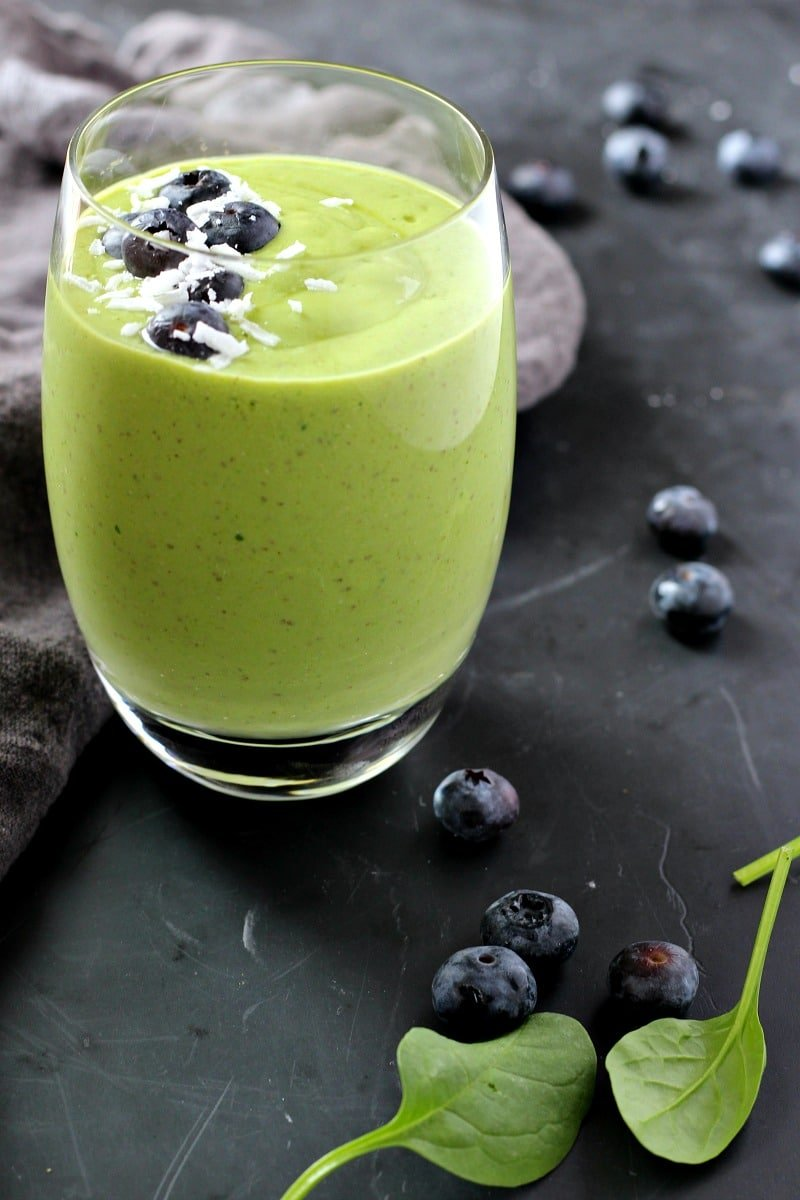 Spinach Chia Green Smoothie