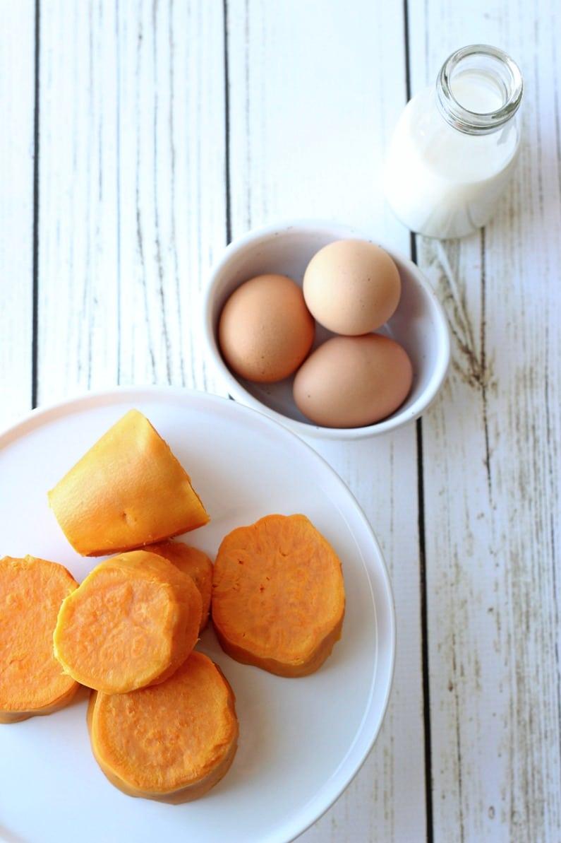 Paleo + GF Sweet Potato Pancakes