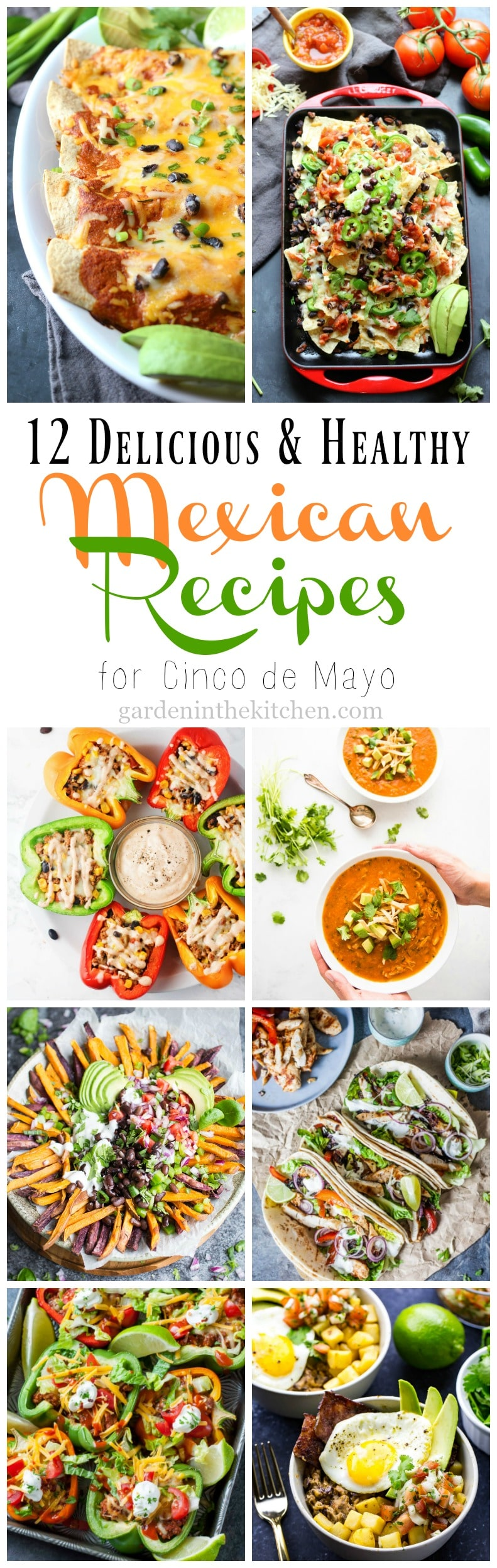 12 Delicious and Healthy Mexican Recipes for Cinco de Mayo