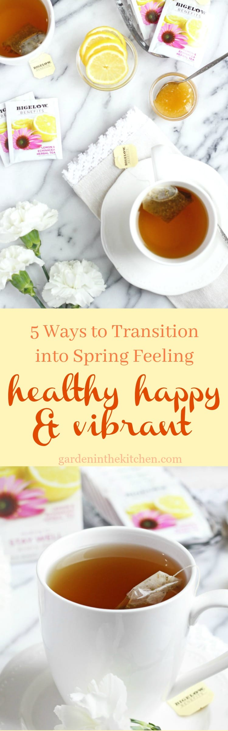 5 Ways to Transition into Spring Feeling Healthy Happy & Vibrant!