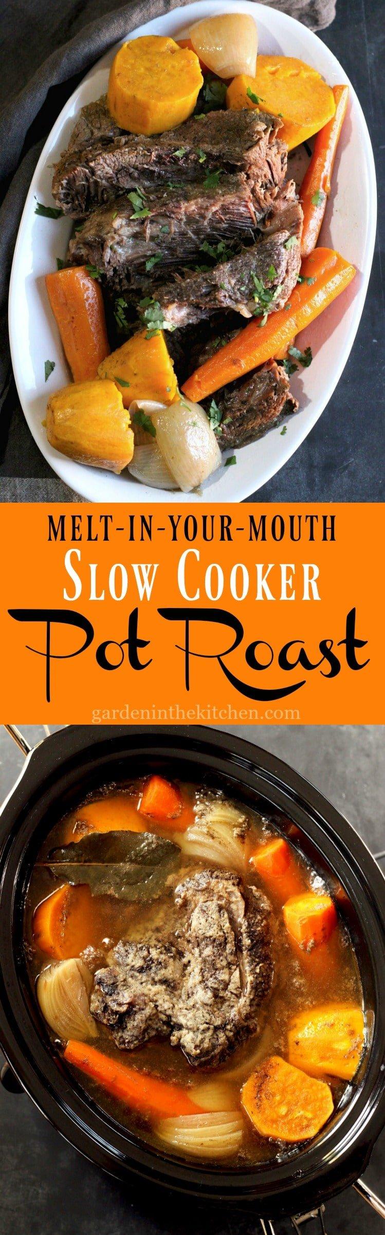 how to slow cook roast beef in crock pot