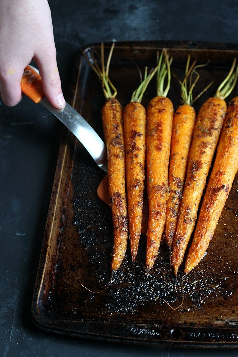 Herb Roasted Carrots