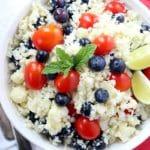 Healthy Low-Carb Parmesan Cauliflower Salad