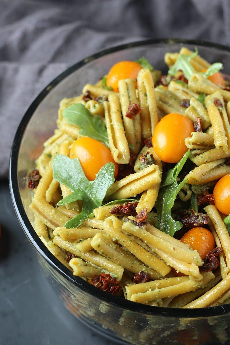 Easy Pesto Pasta Salad