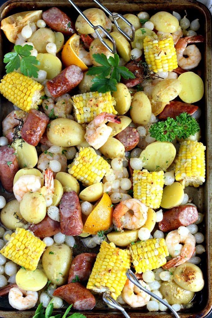 Easy One Pot Shrimp Boil