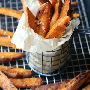 Sea Salt Sweet Potato Steak Fries