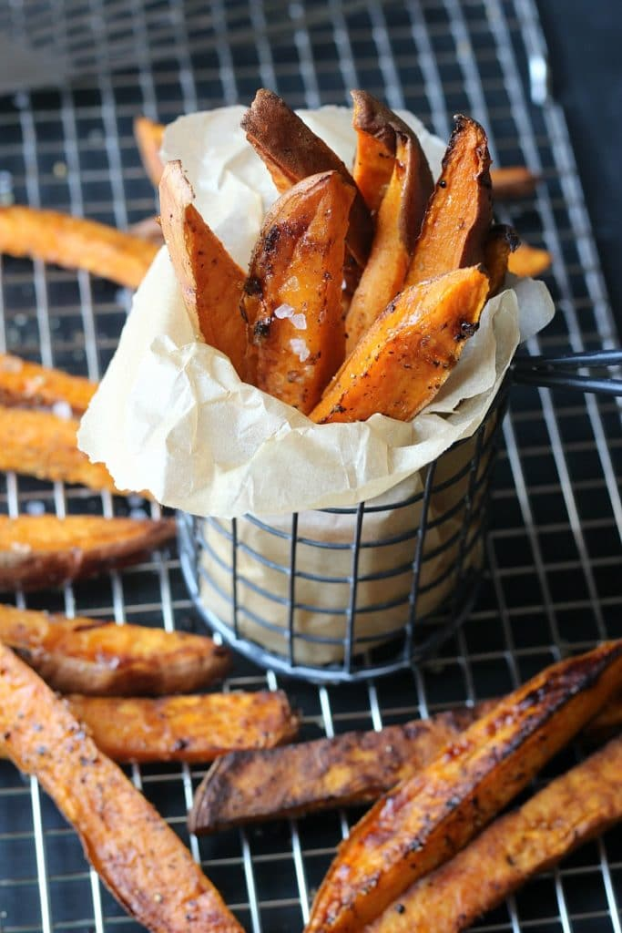Sea Salt Sweet Potato Steak Fries