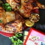 Grilled Split Chicken With Dorot Ginger & Honey