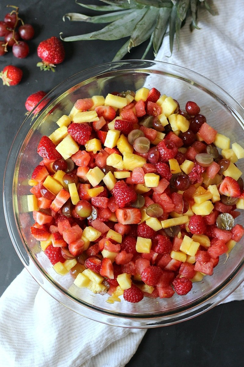 what sets this fruit salad apart from all the other fruit
