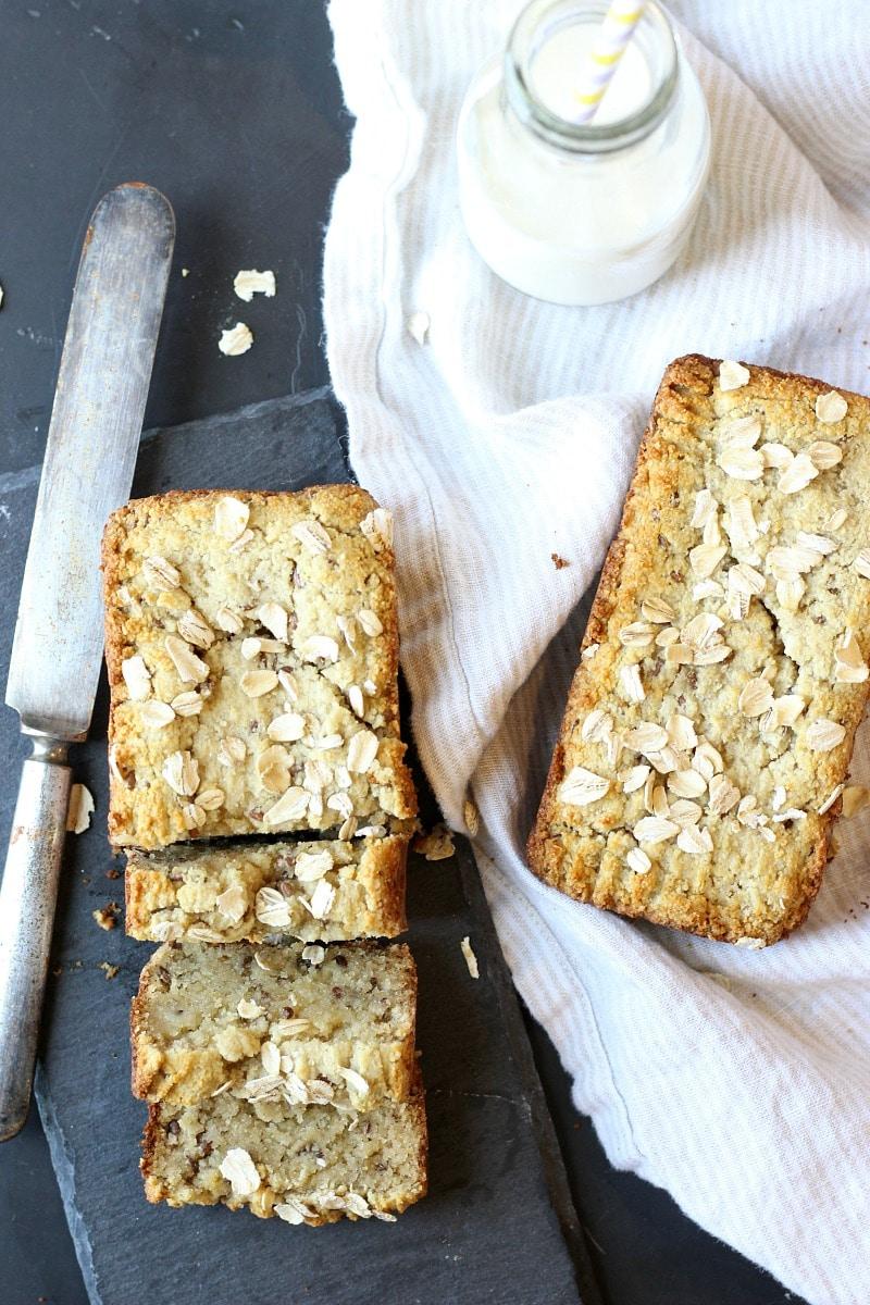 Gluten-Free Honey Almond Flax Bread